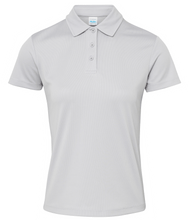 Load image into Gallery viewer, Womens Just Cool Polo JC045 Gazelle Sports UK XS/8 Heather Grey Yes