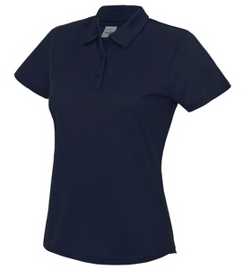 Womens Just Cool Polo JC045 Gazelle Sports UK XS/8 Navy Yes