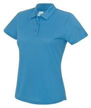 Load image into Gallery viewer, Womens Just Cool Polo JC045 Gazelle Sports UK XS/8 Saphire Yes