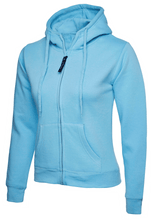 Load image into Gallery viewer, Womens Uneek Zip Up Hoody UC505 Sweatshirts / Hoodies Gazelle Sports UK