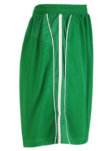 Teamstar Shorts Gazelle Sports UK Yes XS Col M) Green/ White