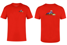 Load image into Gallery viewer, Leisure Lakes T-shirt Leisure Lakes Gazelle Sports UK XS Red YES