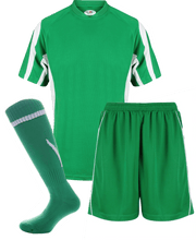 Load image into Gallery viewer, Adults Rio Kits Gazelle Sports UK XS Green/White No