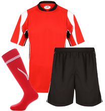 Load image into Gallery viewer, Adults Rio Kits Gazelle Sports UK XS Red/Black No