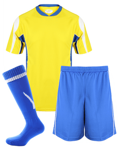 Adults Rio Kits Gazelle Sports UK XS Yellow/Royal No