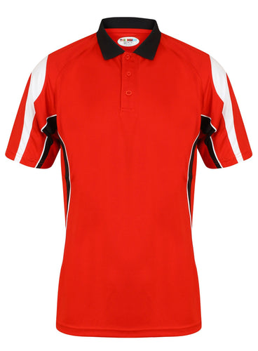 Rio Polo Gazelle Sports UK Yes XS Col B) Red/ Black/ White