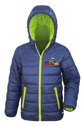 Kids Leisure Lakes Padded Jacket Gazelle Sports UK
