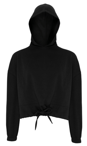 Womens Tri Dry Hoody TR085 Sweatshirts / Hoodies Gazelle Sports UK XXS/6 Black Yes