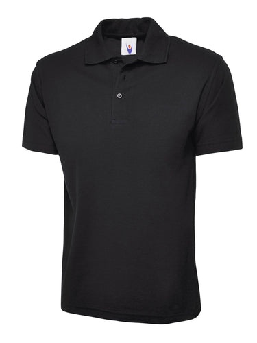 Uneek Classic Polo UC101 Gazelle Sports UK XS Black Yes