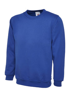 Uneek Premium Sweatshirt Gazelle Sports UK XS Royal