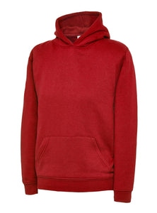 Kids Pet Embroidered Hoodie Gazelle Sports UK Red 2ys