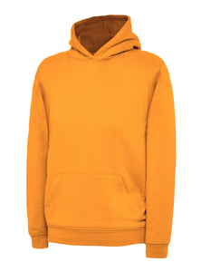 Uneek Children's Hoodie Gazelle Sports UK 2 yrs Orange