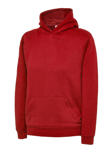 Uneek Children's Hoodie Gazelle Sports UK 2 yrs Red