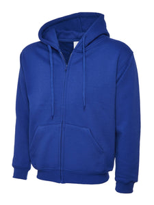 Uneek Classic Zip hoodie Gazelle Sports UK