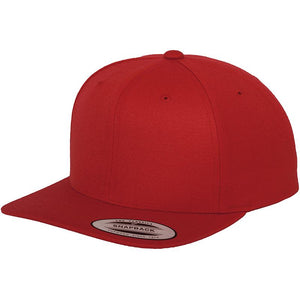 Classic Snap Back Cap by Flexfit Yupoong YP001 Gazelle Sports UK Yes (Minimum 20) Red