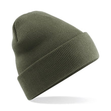 Load image into Gallery viewer, Original Cuffed Beanie by Beechfield BC045 Gazelle Sports UK Yes Olive