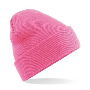 Original Cuffed Beanie by Beechfield BC045 Gazelle Sports UK Yes Pink