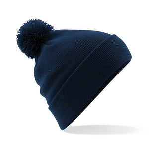 Pom Pom Beanie by Beechfield BC426 Gazelle Sports UK Yes Navy