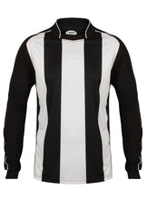 Load image into Gallery viewer, Kids Italia Long Sleeve Football Top Gazelle Sports UK XSB/26 Black/White No