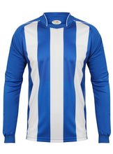 Load image into Gallery viewer, Kids Italia Long Sleeve Football Top Gazelle Sports UK XSB/26 Royal/White No
