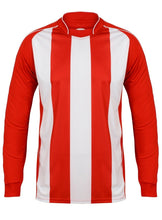 Load image into Gallery viewer, Kids Italia Long Sleeve Football Top Gazelle Sports UK XSB/26 Red/White No