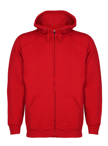 Aran Zip through Hoody Sweatshirts / Hoodies Gazelle Sports UK Yes XS Red
