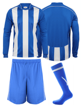 Load image into Gallery viewer, Adults Italia Football Kit Gazelle Sports UK Yes XS Col D) Royal Blue/ White