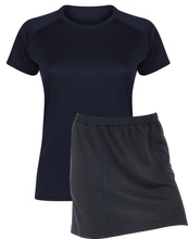 Load image into Gallery viewer, Ladies Netball / Hockey / Rounders Team Kits Gazelle Sports UK XS/8 NAVY YES