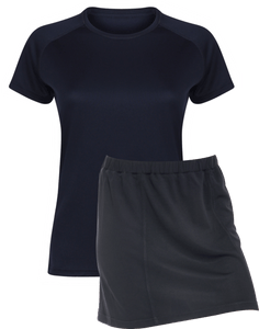 Ladies Netball / Hockey / Rounders Team Kits Gazelle Sports UK XS/8 NAVY YES