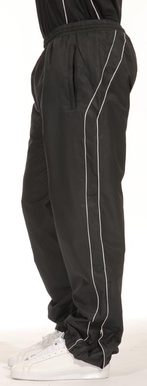 Kids Quantum Track pants Gazelle Sports UK Yes XXSB Col B) Black/ White