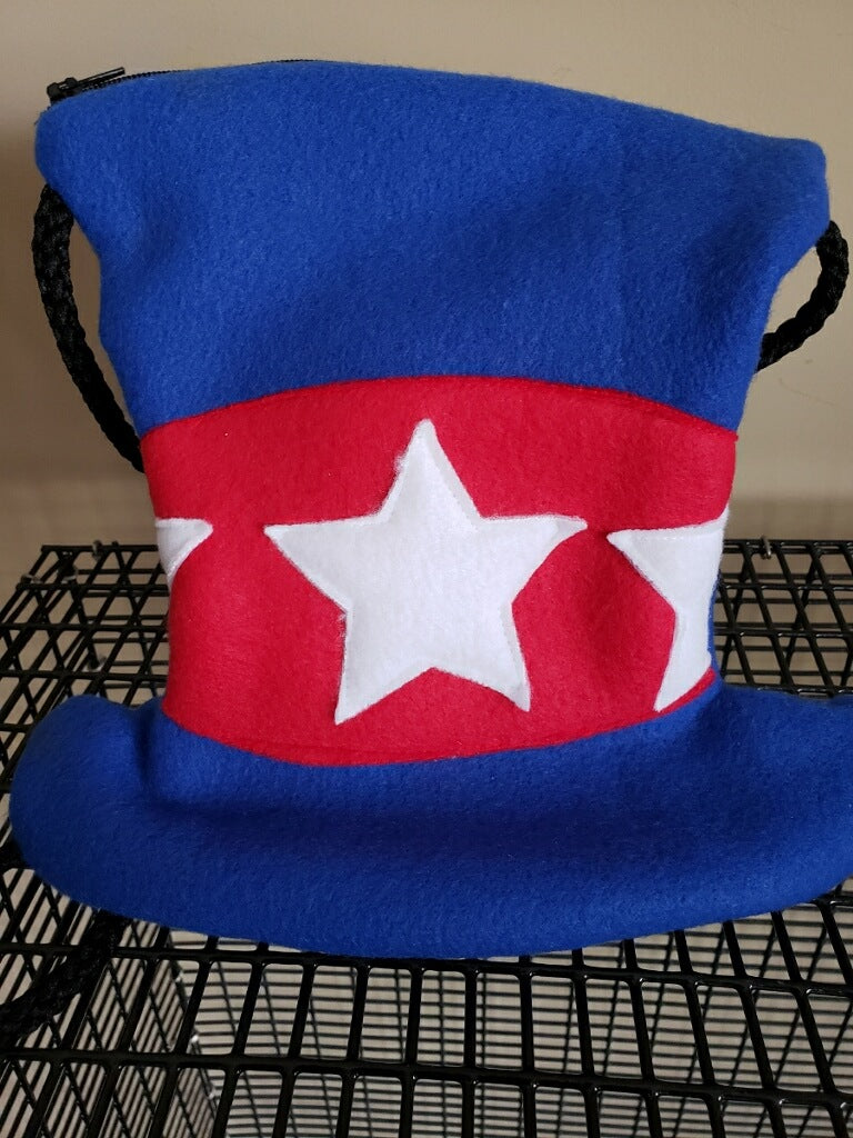 Uncle Sam's Patriotic Hat Pouch - Pocket Pets
