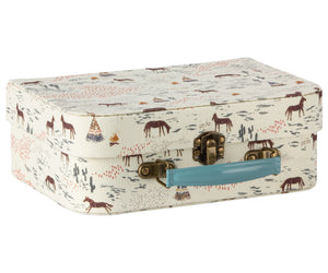 Suitcase with Fabric, 2-piece Set