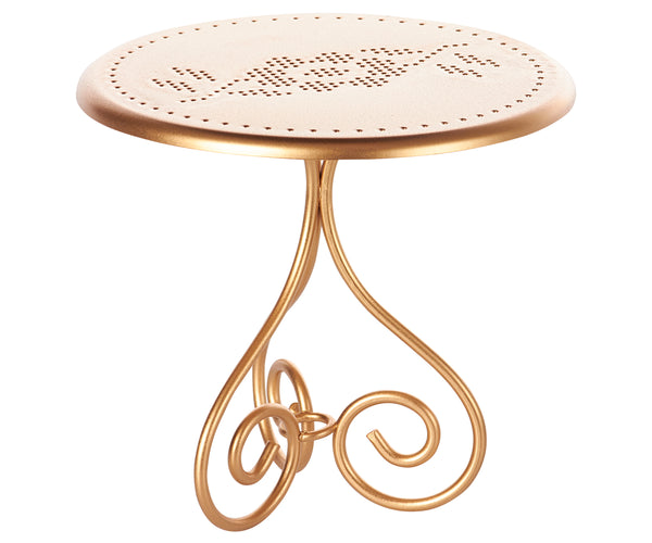Cafe Table Gold, Mini