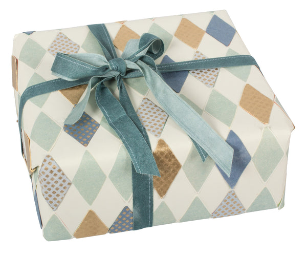 Harlekin Gift wrap in Blue