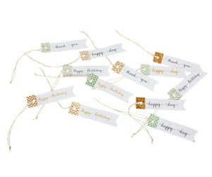 Gift Tags, 12 Pack
