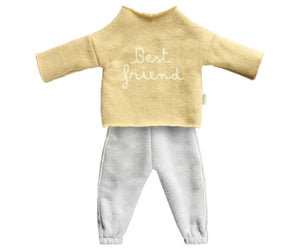 Best Friends Track Suit, Yellow