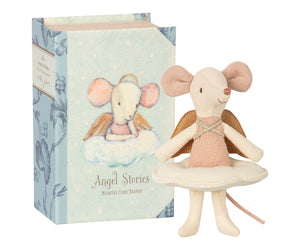 Guardian Angel Mouse in Book