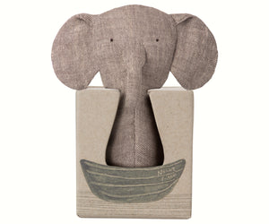 Elephant Crinkle Toy