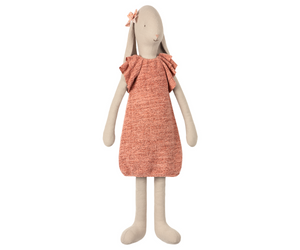 Knitted Dress Bunny, Size 5