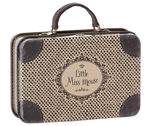 Little Miss Mouse Metal Suitcase