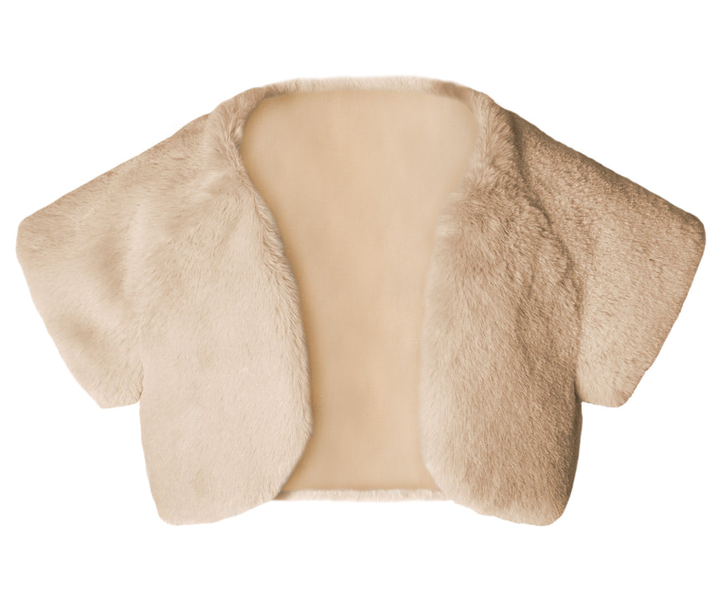 Plush Powder Bolero