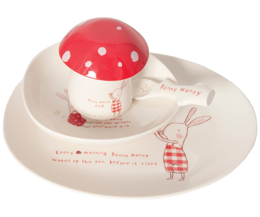 Bunny Honey Melamine 6 Piece Set