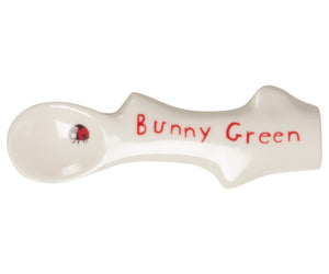 Bunny Green Melamine Spoon