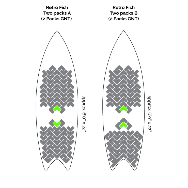 GNT Performance Surf Grip and Traction Sticker