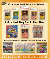 2020 Super Break Pokémon Poke Stars Buyback Edition Box