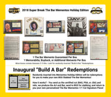 2018 Super Break The Bar Mementos Holiday Edition