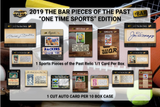 2019 Super Break Pieces of the Past One Time Sports Edition Box