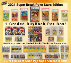 2021 Super Break Poke Stars Buyback Edition Box