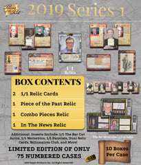 2019 The Bar Pieces of the Past Series 1 Edition Hobby Box