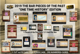 2019 Super Break Pieces of the Past One Time History Edition Box